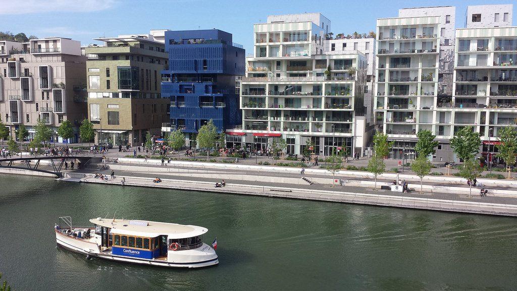 Le quartier de Confluence à Lyon