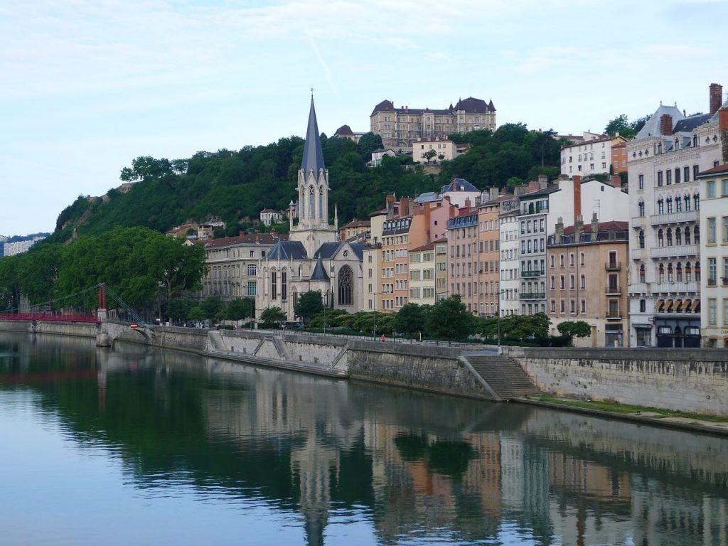 Un week-end à Lyon dans le quartier de Saint Jean.