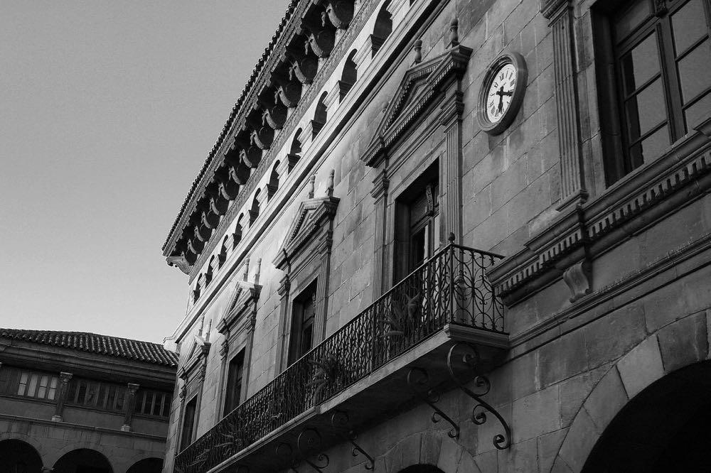 La place Saint-Jaume dans le Bari Gotic