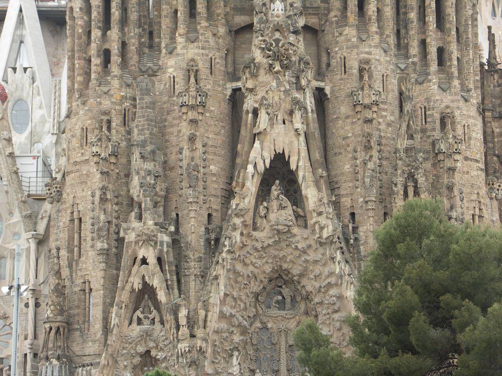 La Sagrada Familia, incontournable à Barcelone