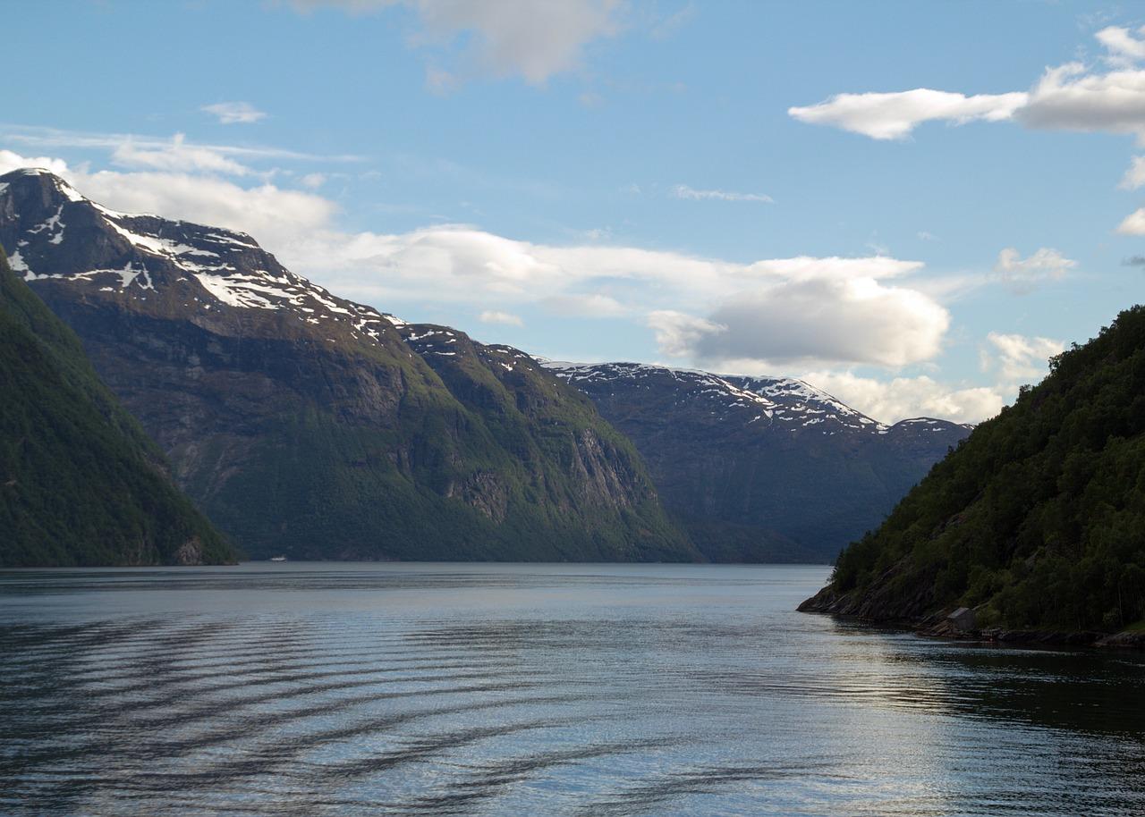 Le fjord Geiranger en Norvège