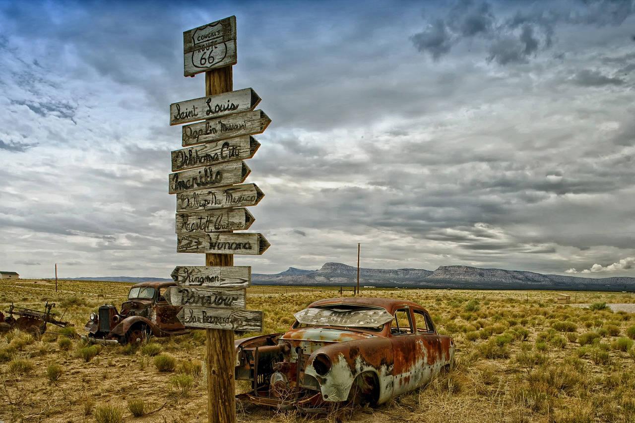 Impressions de voyage sur la 66 aux USA
