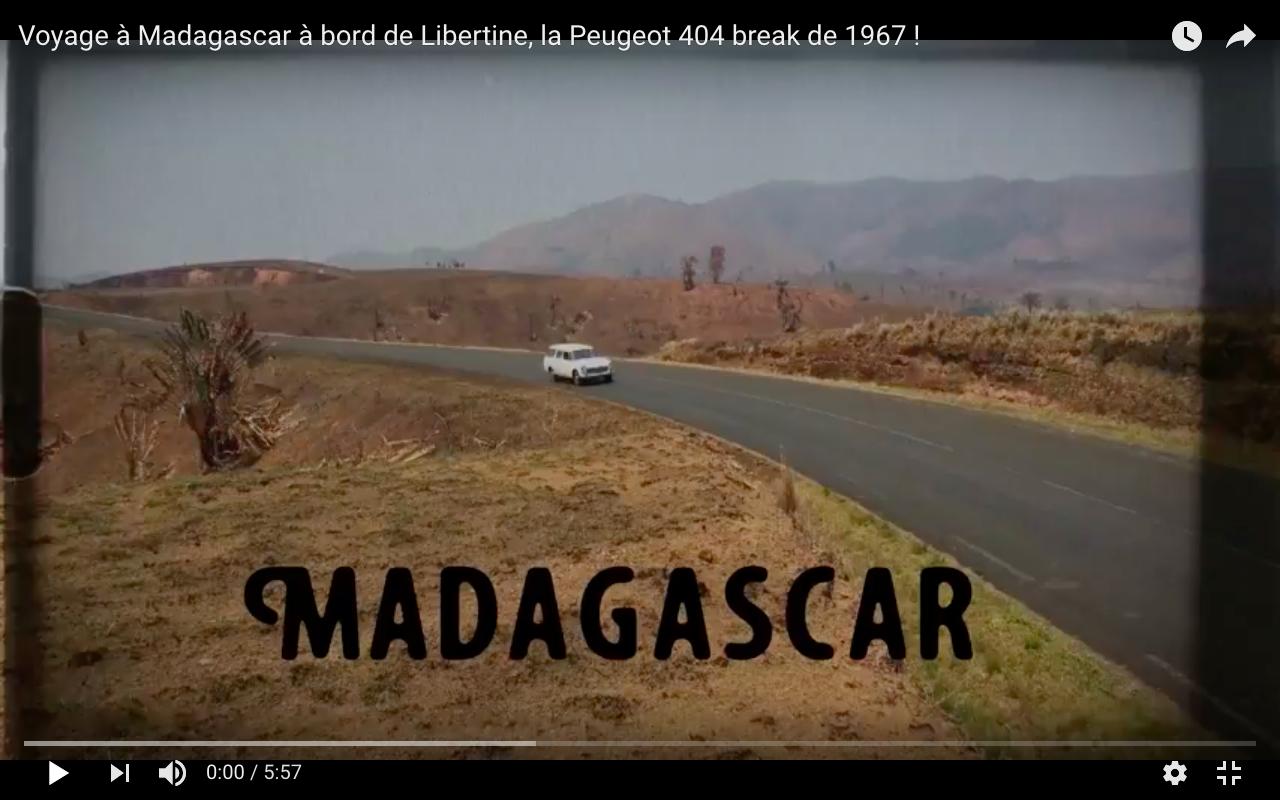 Road trip à Madagascar en vidéo