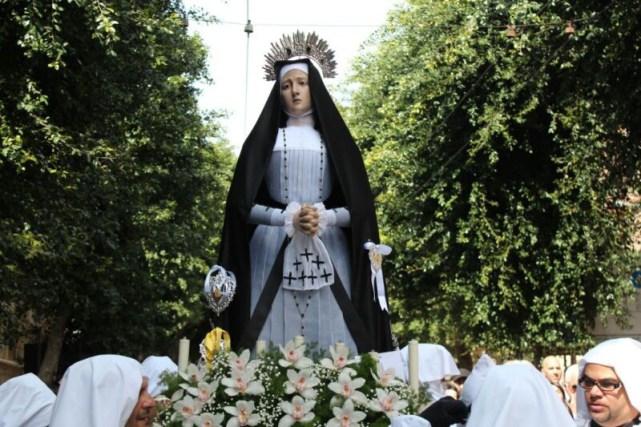 Procession de la semaine Sainte