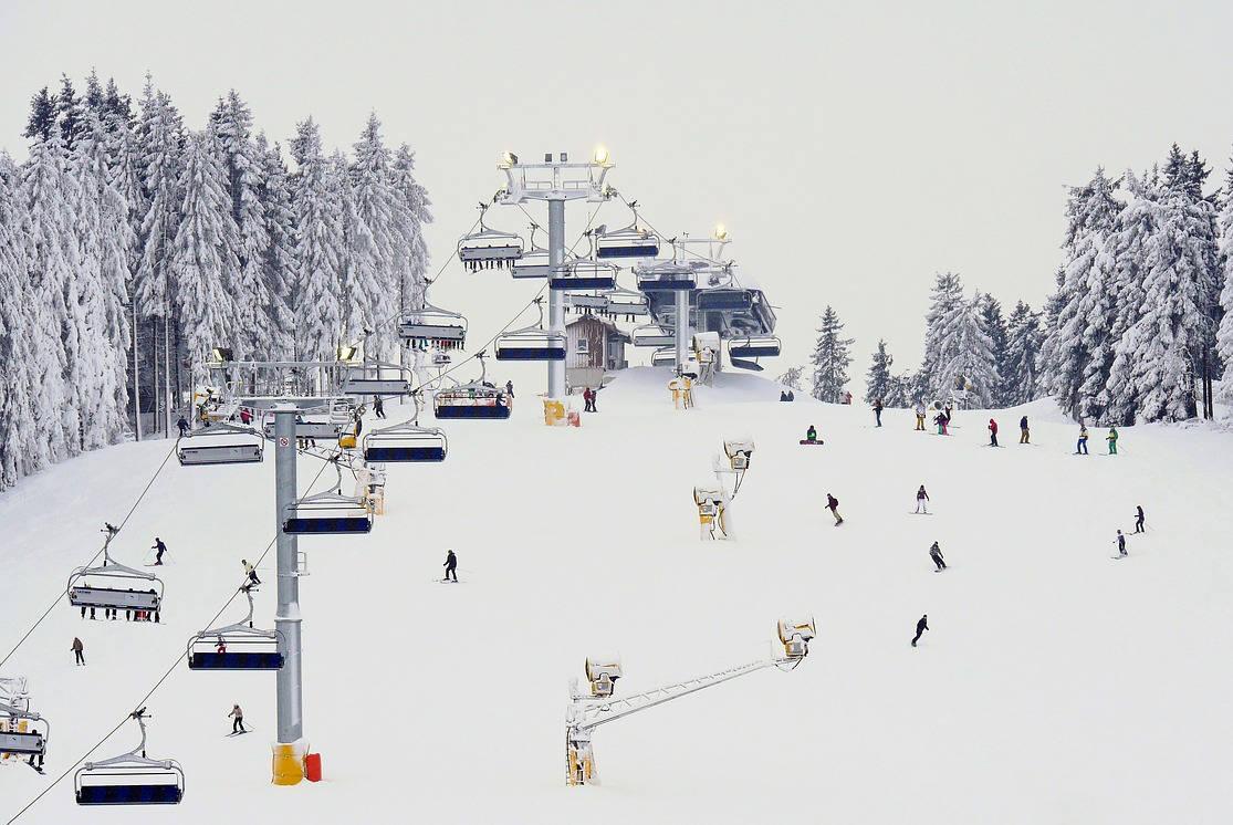 Un week-end à la neige en France